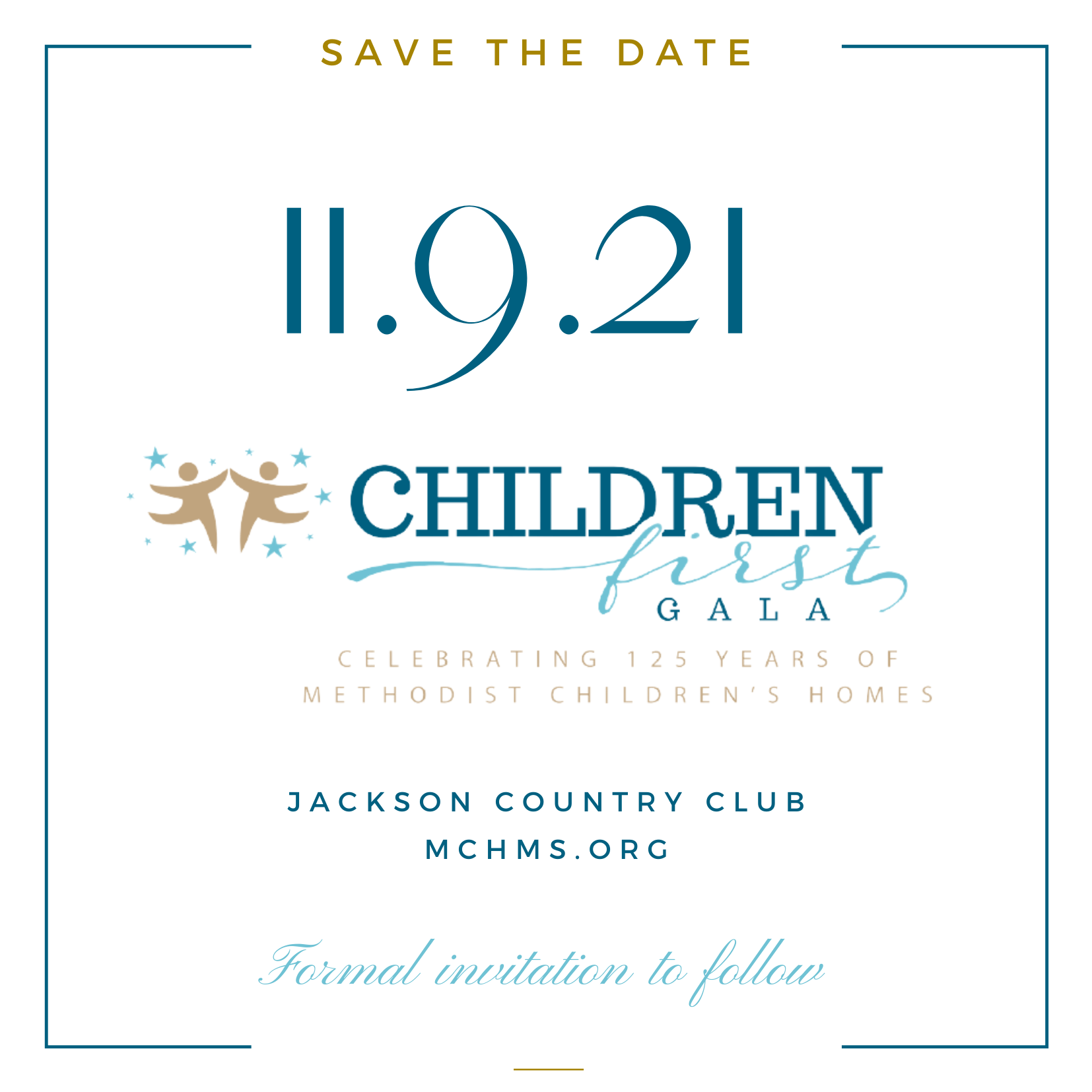 Children First Gala Save the Date