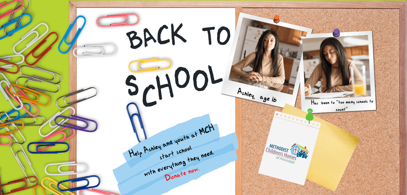 Back-to-School Appeal website Cover
